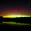 The Northern Lights in the Northwoods