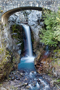 Christine Falls  Mt Rainier National Park, Washington