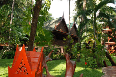 Tropical gardens of Royal Phawadee