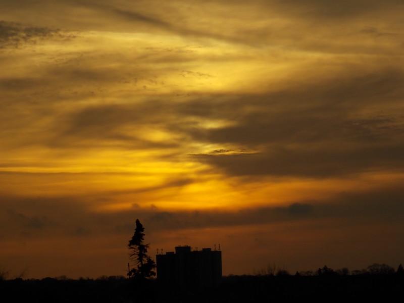 Hamilton Ontario sky