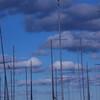 June 2013 Burlington sky. La salle Park