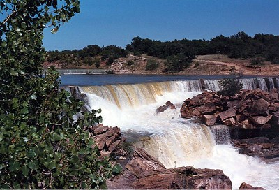 The Spillway At Lake Brownwood