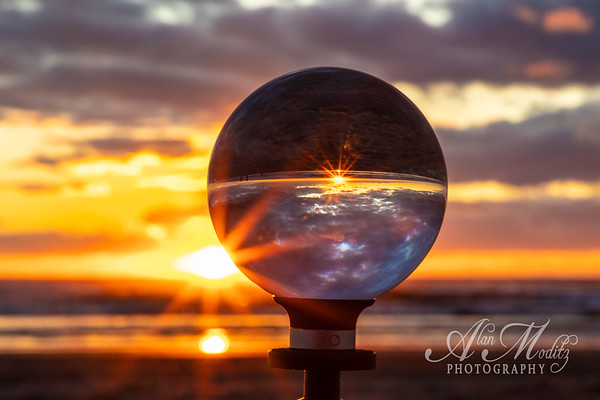 Sunset refraction