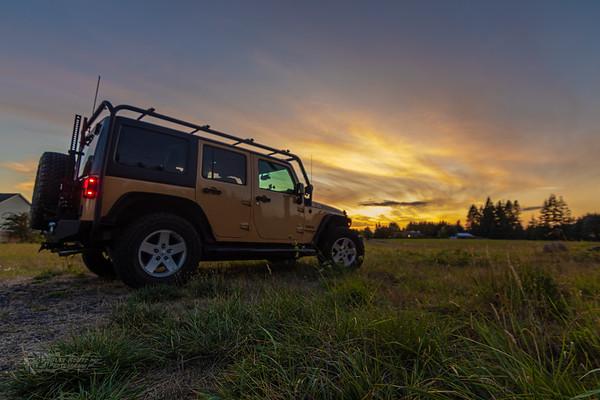 Chasing Sunset.