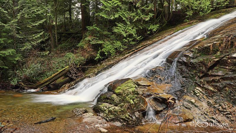 Upper Falls at Cliff Gilker Park