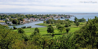 View of shore from Norman J. Levy Park and Preserve,NY.