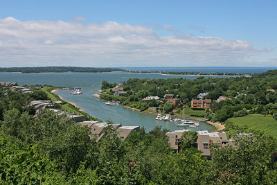 View of harbour from James St.,Northport,NY