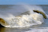 High surf at Point Lookout,NY.