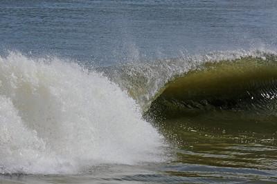 Big surf at Lido Beach Long Island NY