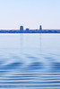 """New Rochelle with """"ripple wave"""" from a boat wake."""