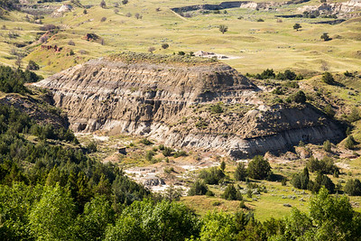 View of the Badlands from Buck Hill.