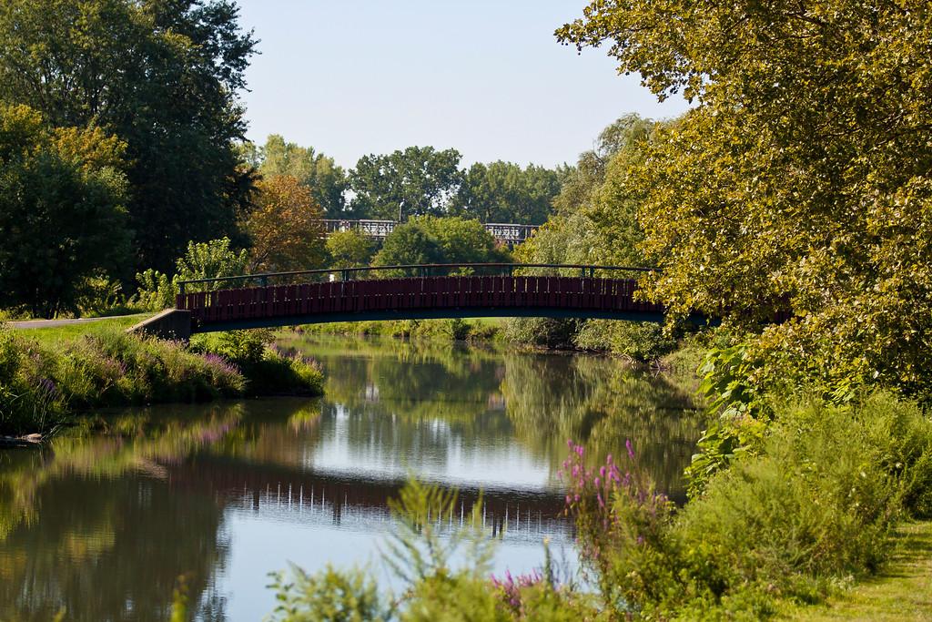 Golf cart bridge, Teaneck, NJ