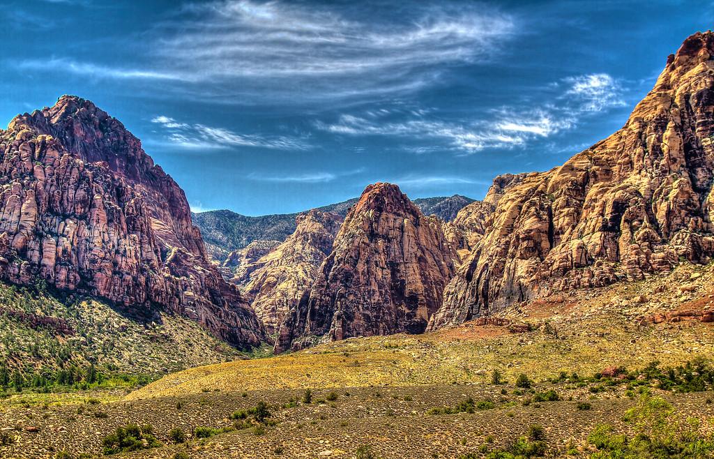 Lost Creek Canyon.  Las Vegas, NV