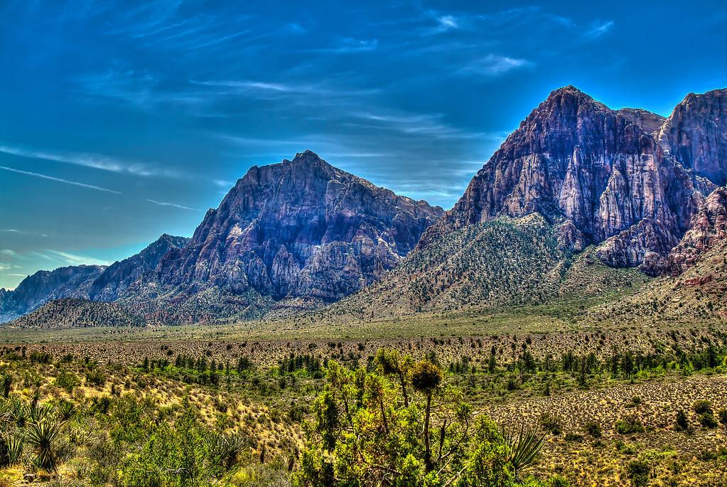 Red Rock Canyon in HDR.  Las Vegas, NV