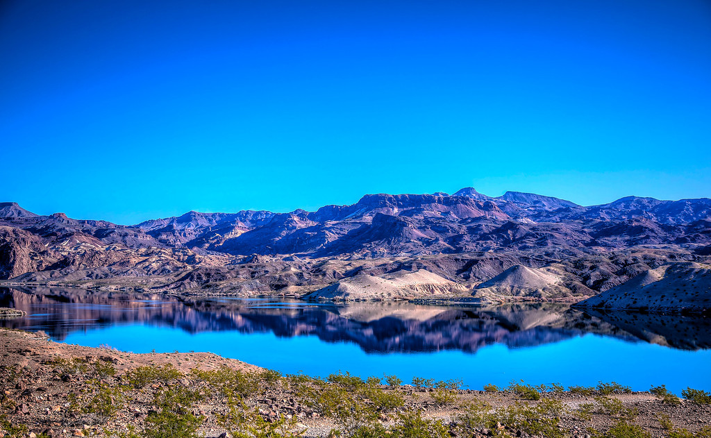 Another lovely HDR near El Dorado canyon and the Colorado River.  Searchlight, NV