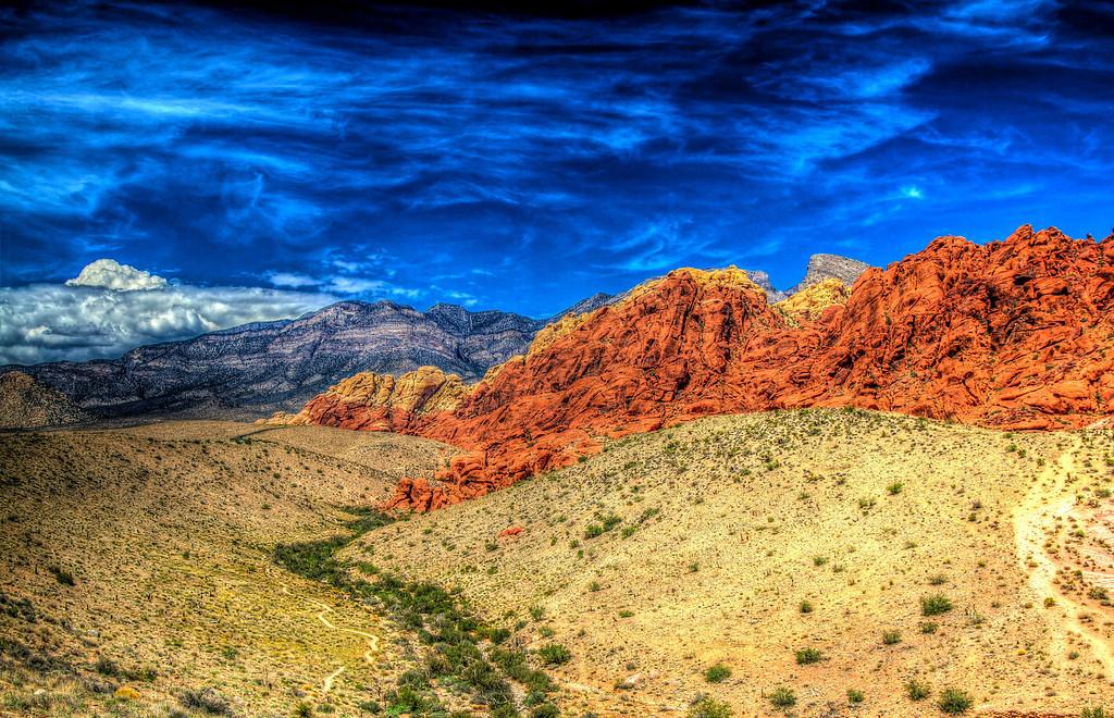 Extreme Red Rock Park.  Las Vegas, NV