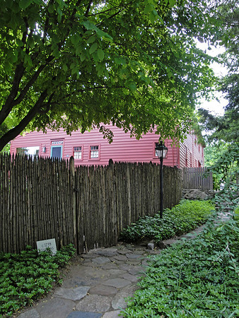Thomas Scott House (1735) on Barlow Mountain Road, Ridgefield, Connecticut