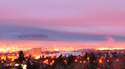 Looking South From Hillcrest Park In Thunder Bay