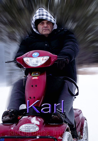Karl Out And About