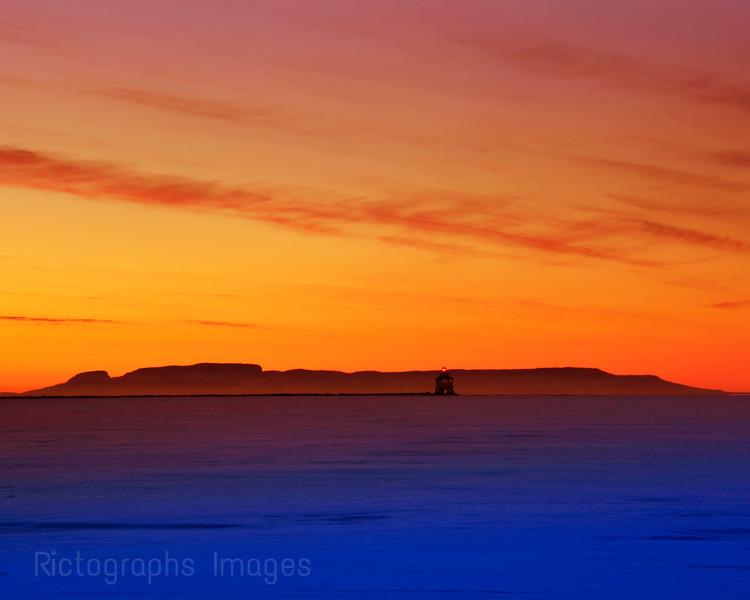 Nanabijou, Sleeping Giant, Lake Superior,Thunder Bay, Ontario, Canada