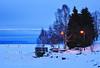 Winter at Thunder Bay's Marina Park