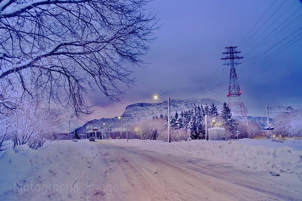 Winter Cityscape,