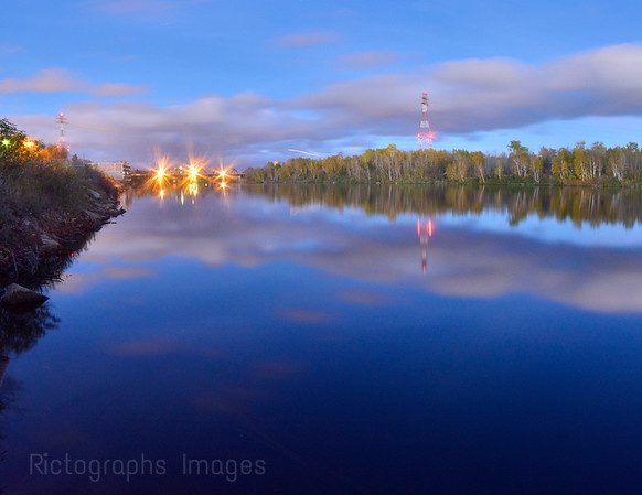 Long Exposure, Kaministiquia River, Thunder Bay, Ontario, Canada