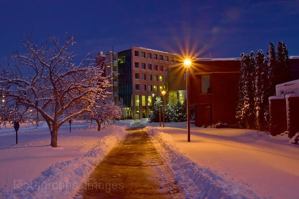 Lakehead University, winter 2018