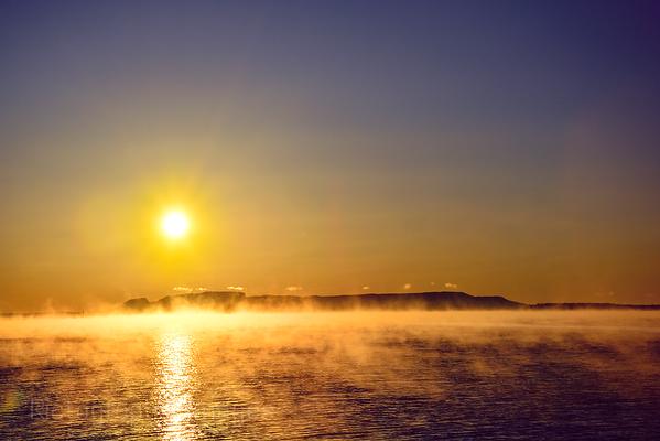A Nanabijou Sun Rise, Autumn 2017