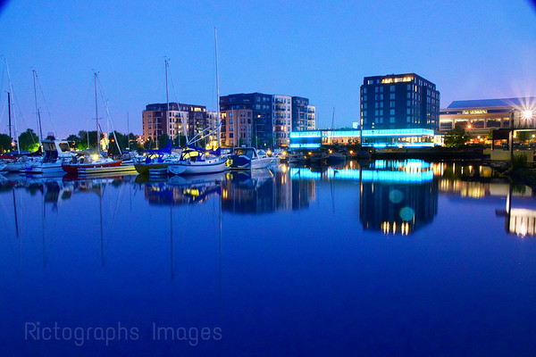 Reflections Thunder Bay Harbour, Summer 2019