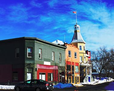 Bay Street, Thunder Bay, Ontario, Canada, Rictographs Images