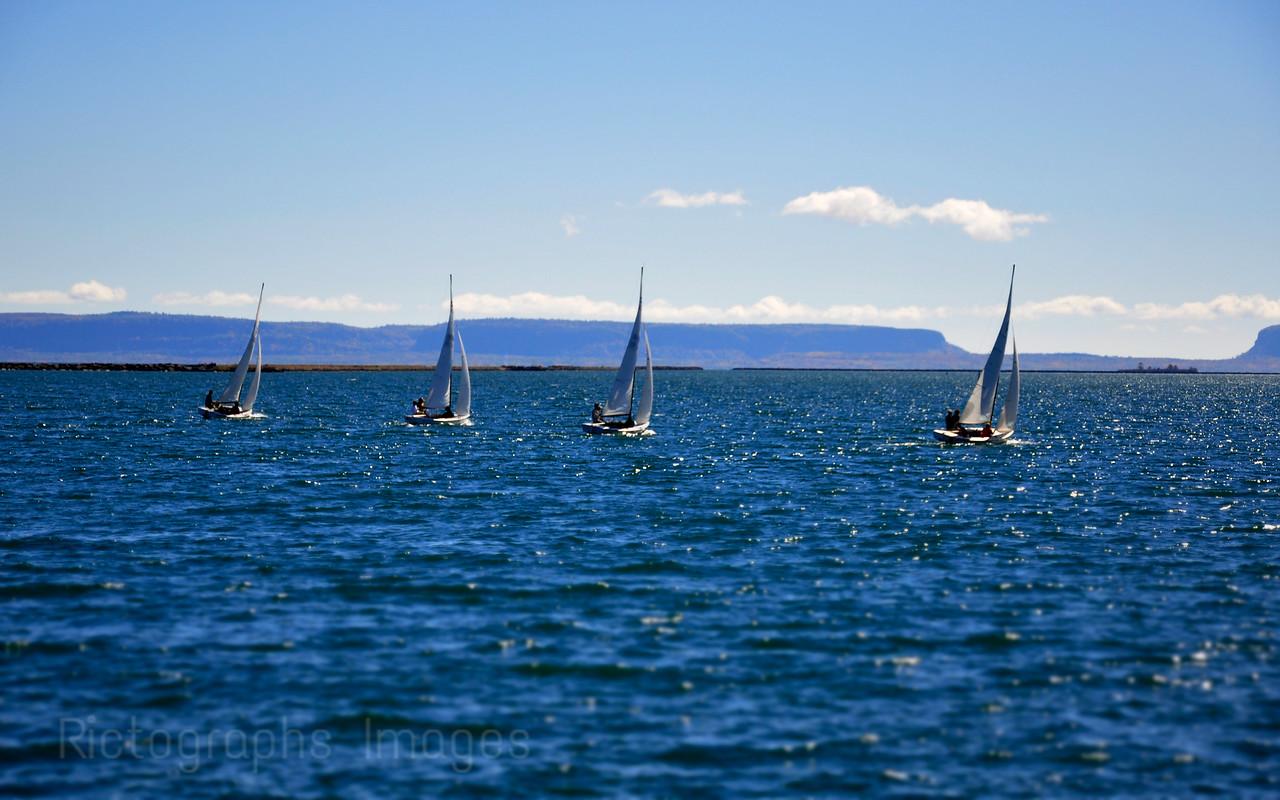 Racing, Sailing