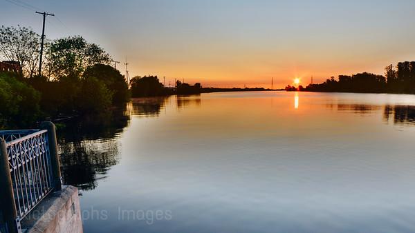 Kam River Lookout; Thunder Bay, Ontario, Canada