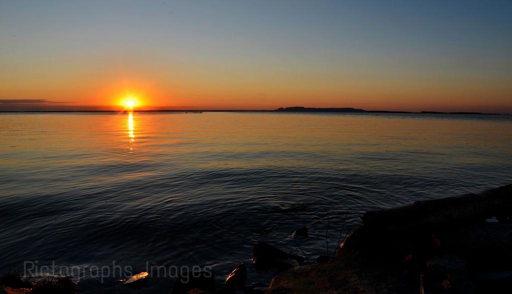 Lake Superior, Nanabijou; Thunder Bay; Ontario; Canada; Photography; Summer 2016, Sunrise