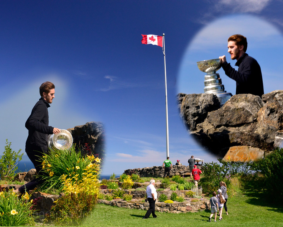The Stanley Cup, Hillcrest Park, Thunder Bay, Ontario, Canada, July 2016