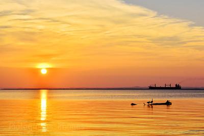 #Summer2017, Sunrise, Lake Superior
