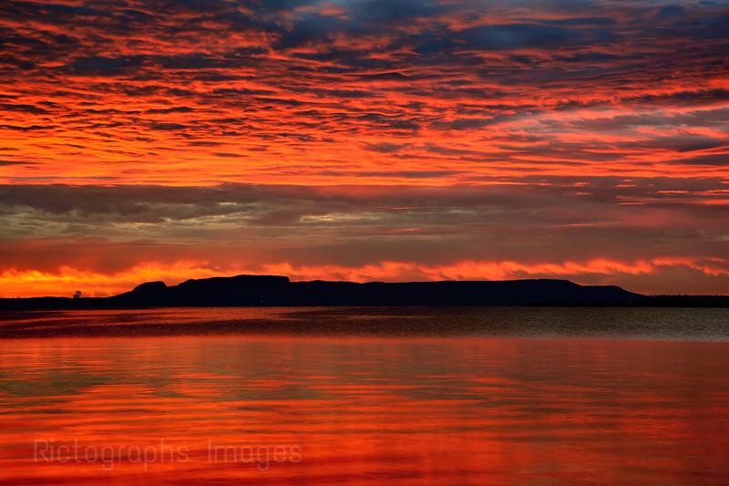 Nanabijou, The Sleeping Giant, Sibley Pennisula, Lake Superior, Thunder Bay, Ontaro, Canada, Autumn 2015,