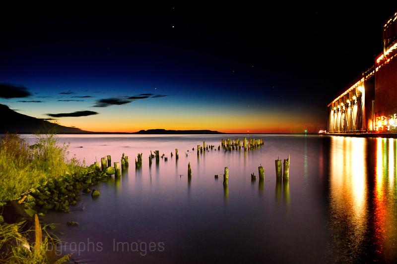 Early Morning At Thunder Bay, Harbor