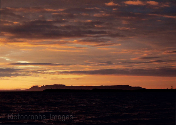 Nanabijou Sunrise, Lake Superior, Thunder Bay, Ontario, Canada Spring 2016