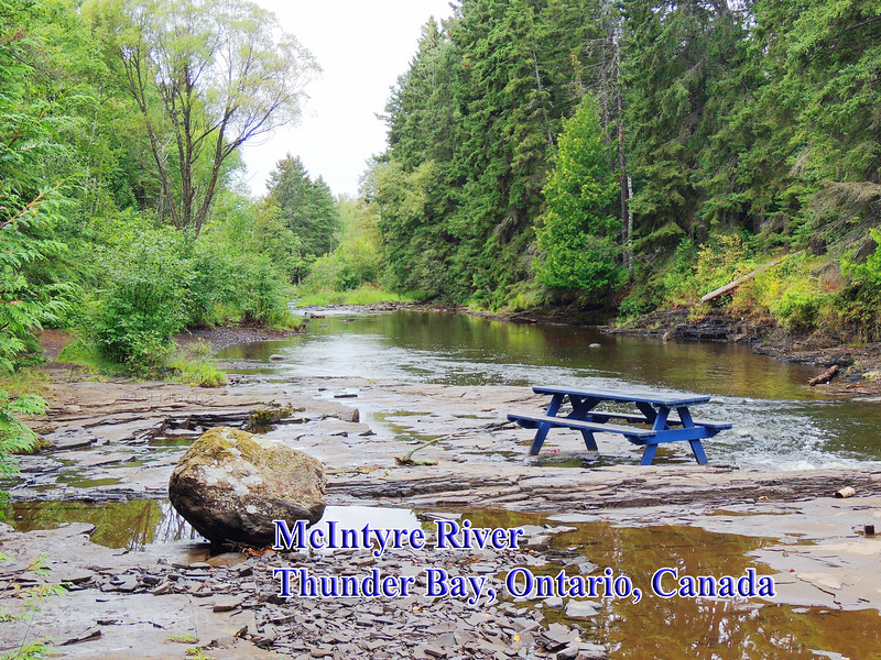 MacIntyre River, Picnic Table,