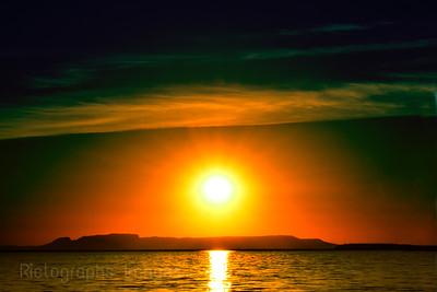 Golden Sunrise, Rictographs Images
