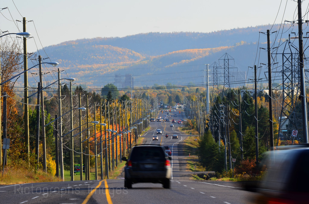 Golf Links Road, Thunder Bay, Ontario, Canada, History. October 2012
