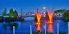 June 2016, Full Moon, Marina Park Thunder Bay, Ontario, Canada, Rictographs Images