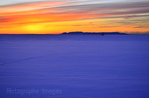 Colorful Sunrise, Lake Superior