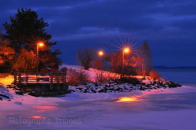 Marina Park, Thunder Bay, Ontario, Canada, Winter 2012