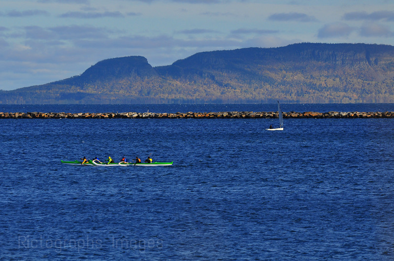 Canoeing & Sailing Lake Superior