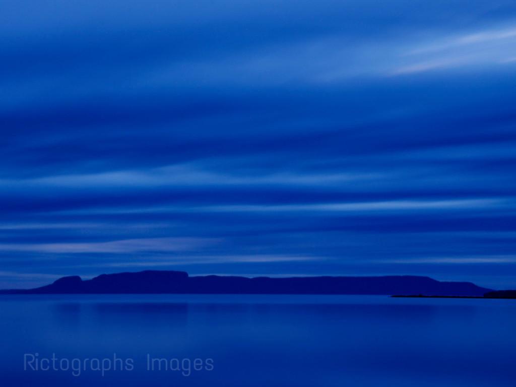 Nanabijou, The Sleeping Giant, Lake Superior, Thunder Bay, Ontaro, Canada fall 2015