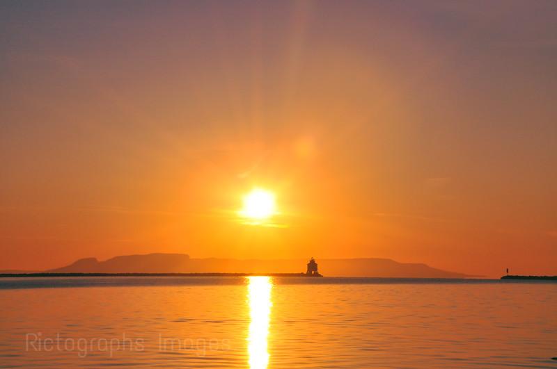 Sleeping Giant Sunrise