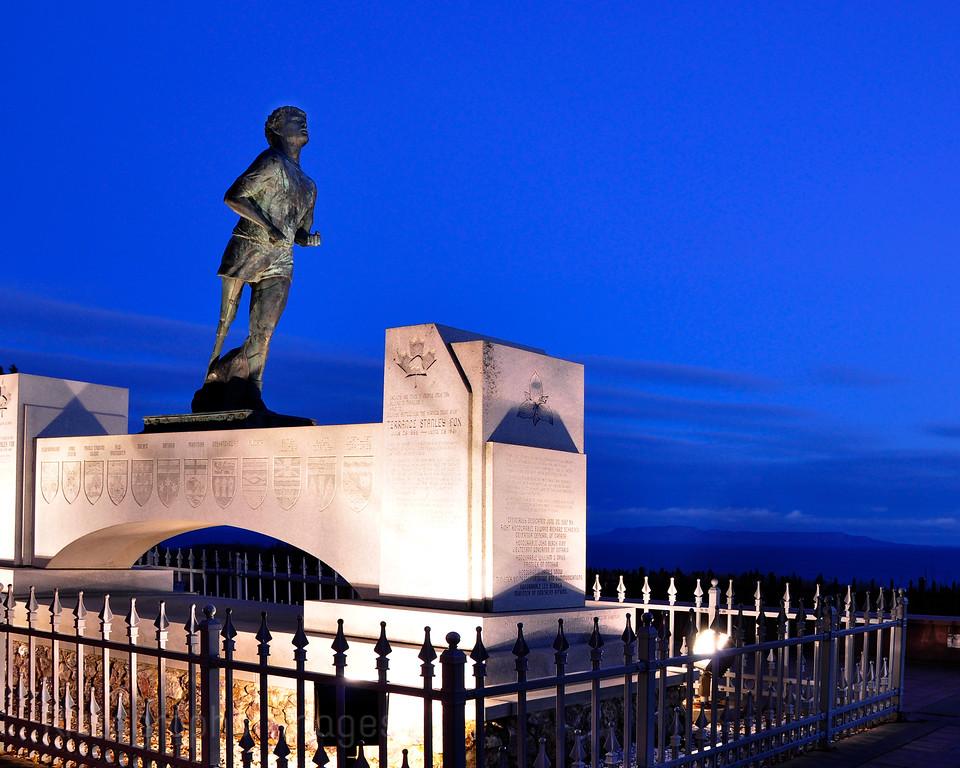 Terry Fox Monument, Thunder Bay, Ontario, Canada