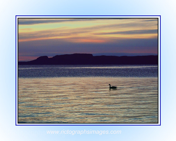 Lake Superior & The Sleeping Giant Rictographs Images; Photos & Art